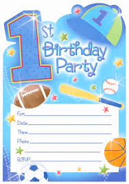 1st Birthday All Star Invitations - 20