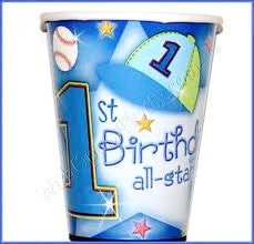 1st Birthday All Star Table Cover