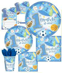 1st Birthday All Star Party Package - Less Trouble & Less Cost