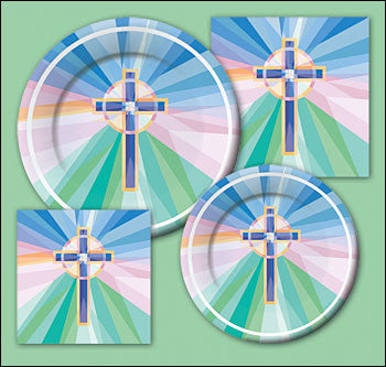 Stained Glass Pattern Plates - 11""
