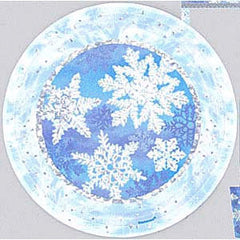 Let it Snow Plates - 9""
