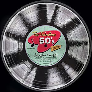 Rock 'n Roll Fabulous 50's Plates 9""