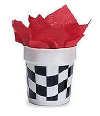 Checkered Beverage Napkins - 50