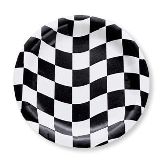 Checkered Plates - 6 3/4""