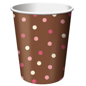 Blush Dots - Cups - 9 oz.