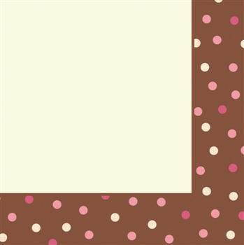 Blush Dots - Dinner Napkins