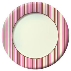 Blush Stripes Lunch Napkins