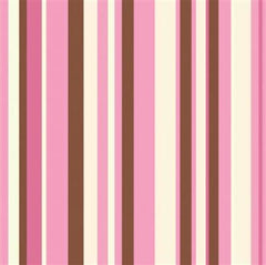 Blush Stripes Beverage Napkins