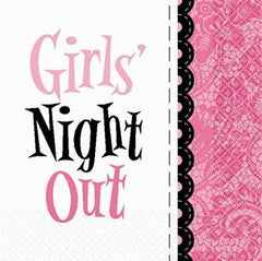 Girls' Night Out Plates - 7""