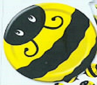 Bee Paper Plates