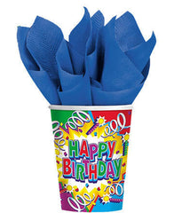 Birthday Explosion - Cups - 9 oz.