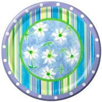 Cabana Floral -  Table Cover - Plastic