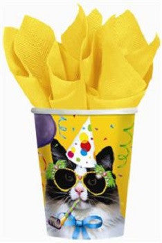 Cat's Meow - Cups - 9 oz. - Birthday