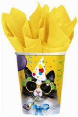 Cat's Meow - Lunch Napkins - Birthday