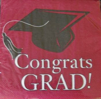 Congrats Grad - Lunch Napkins