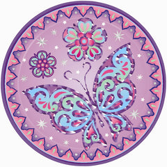 Sparkle Princess Plates - 9""