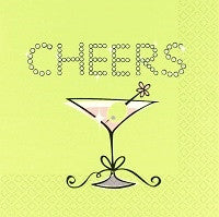 Cheers -  Lunch Napkins