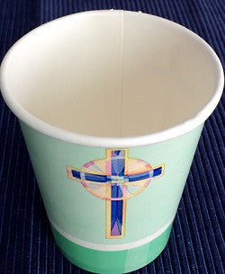 Stained Glass Pattern - Cups - 9 oz
