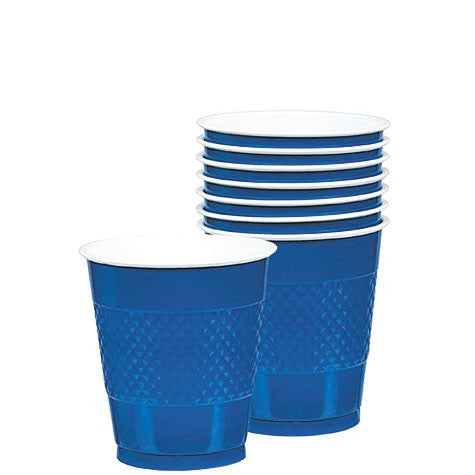Cups - 12 oz - Bright Royal Blue