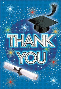 Dazzling Grad - Thank You Notes