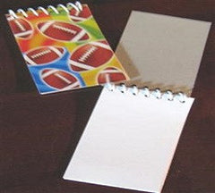 Football Note Pads - Favors
