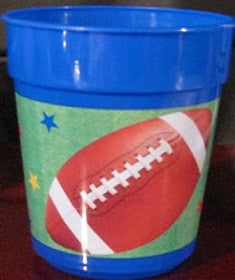 Football Cups-Plastic Tumblers