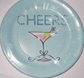 Forever Young Plates 9""