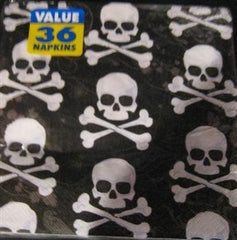 Skulls & Bones Lunch Napkins