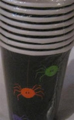 Halloween Spider Frenzy Beverage Napkins