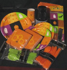Halloween Squares Treat Bag