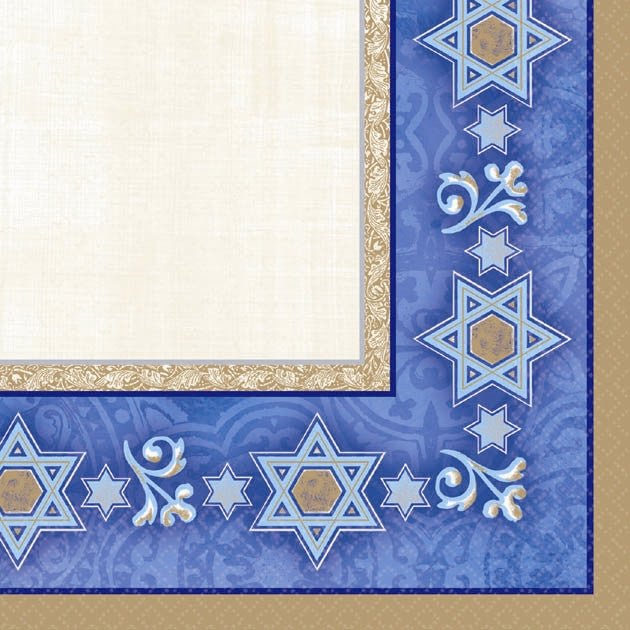 Hanukkah Judaic Traditions Beverage Napkins