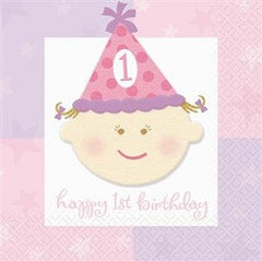 1st Birthday Girl - Party Package