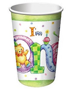 I'm One - Cups - 9 oz. - Birthday