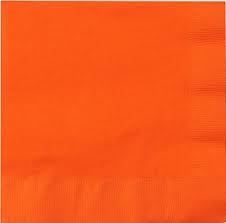Lunch Napkins - Orange - 50