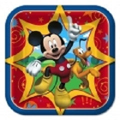 Mickey Mouse - Plates - 7""
