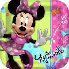 Minnie Mouse - Plates - 9""