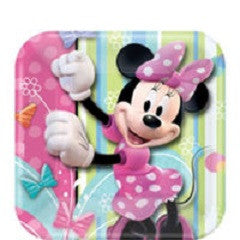 Minnie Mouse - Plates - 7""