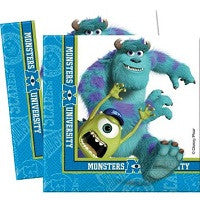Monster University Beverage Napkins