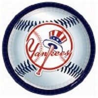 New York Yankees - Plates - 9""