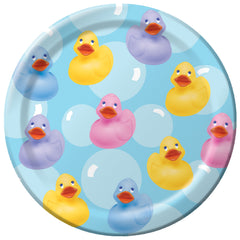 Rubber Ducky Plates - 10 1/4""
