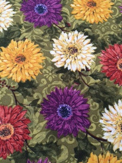 Chrysanthemum Table Runner