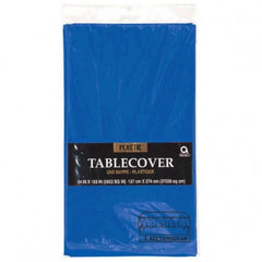 Solid Table Cover Paper Plastic Lined Rectangle