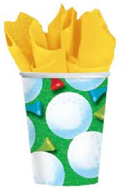 Tee Time Cups - 9 oz.