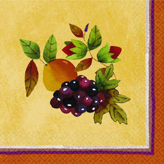 Thanksgiving Medley Beverage Napkins