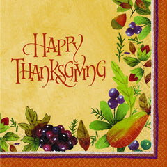 Thanksgiving Medley Lunch Napkins