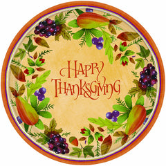 Thanksgiving Medley Plates 7""