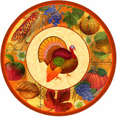 Thanksgiving Scrapbook Cups - 9 oz.