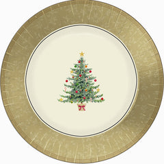 Classic Victorian Tree - Plate - 7""