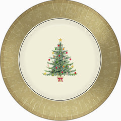 Classic Victorian Tree - Dinner Napkins