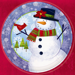 Frosty Friends - Plate - 10 1/2""